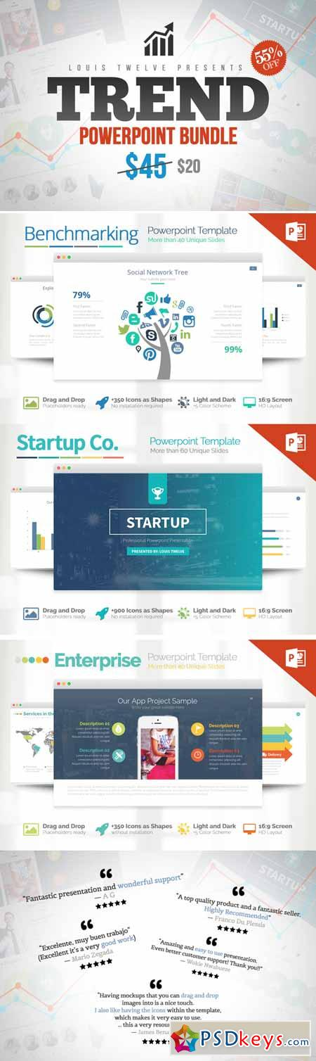 Trend - Powerpoint Bundle 153071