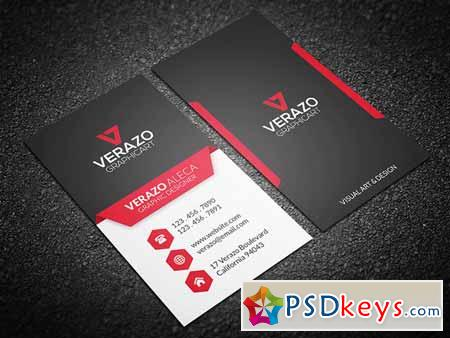 Bold & Modern Business Card 155183