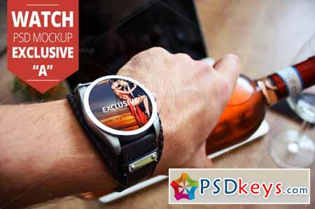 Watch PSD Mockup Exclusive A 157721