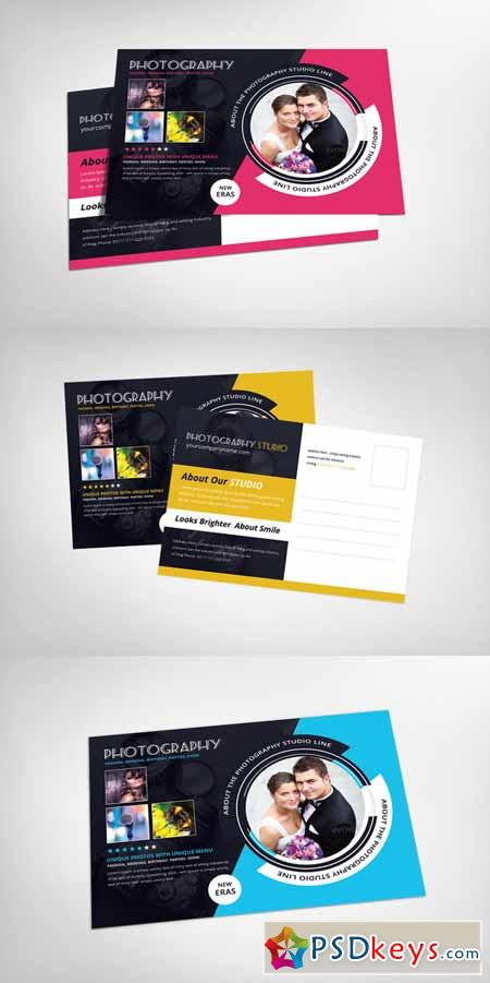 Photography Postcard Template Free Download Photoshop - Photography postcard template