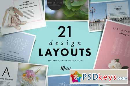 21 Design Layouts 129071