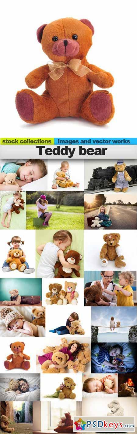 Teddy bear,25 x UHQ JPEG