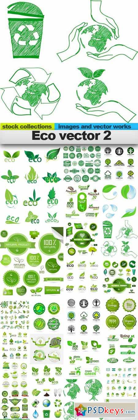 Eco vector 2,25 x EPS