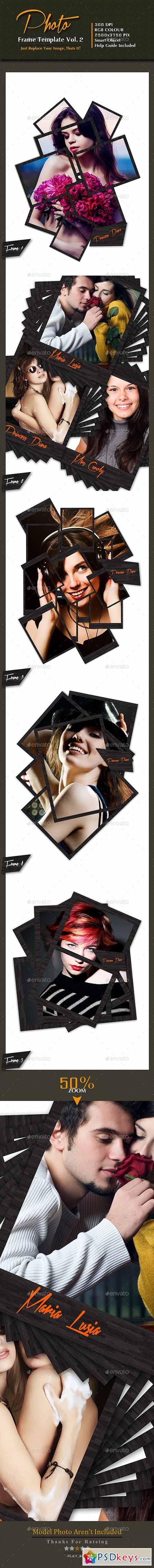 Photo Frame Template Vol-2 10088591