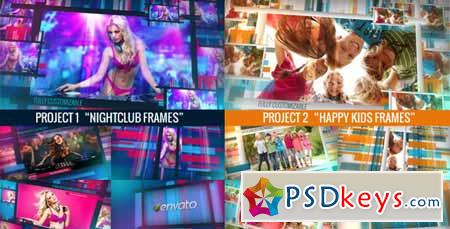 Chameleon Frames Photo Galleries - After Effects Projects