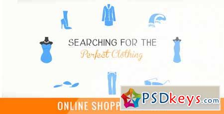 Online Shopping Store - After Effects Projects