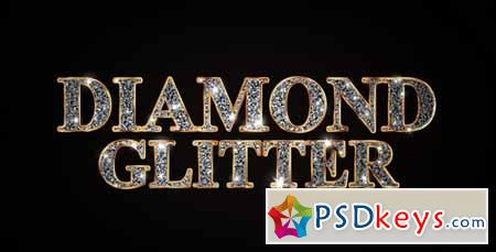 Diamond Glitter Titles - After Effects Projects