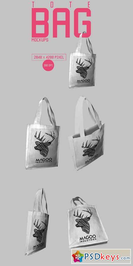Canvas Totebag Mockup 166258