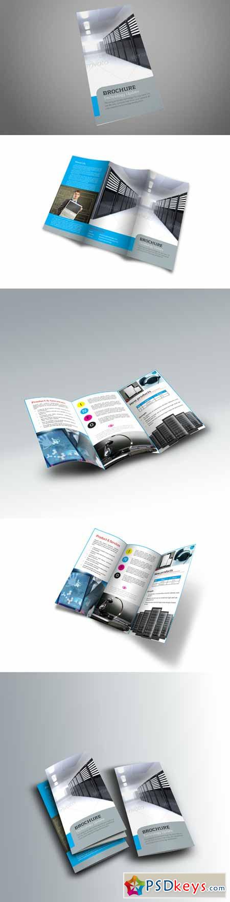 Trifold Brochure Template 166252