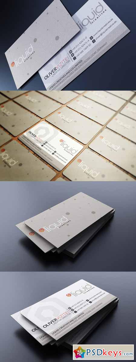 Elegant Beige Business Card 165427