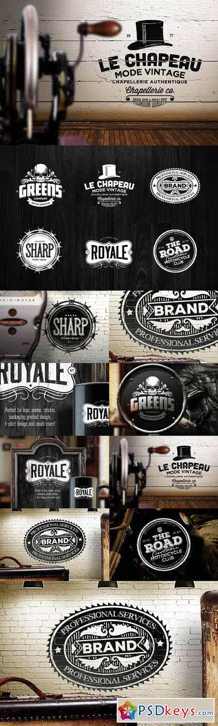 Badges & Logos Vol.09 166221