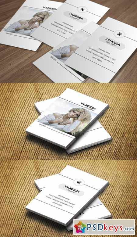 Personal Business Card CM197 118337