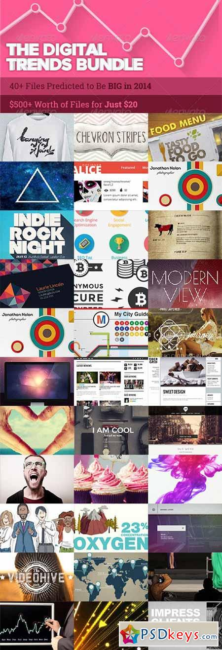 The Digital Trends Bundle 2014