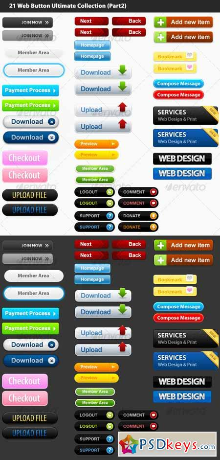 21 Web Button Ultimate Collection (Part 2) 39941