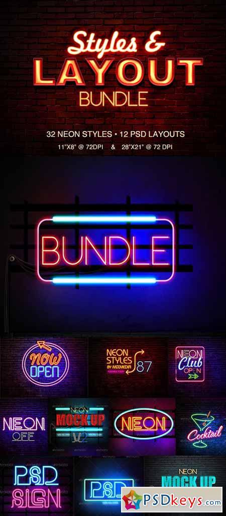 Neon Styles Bundle 8391077