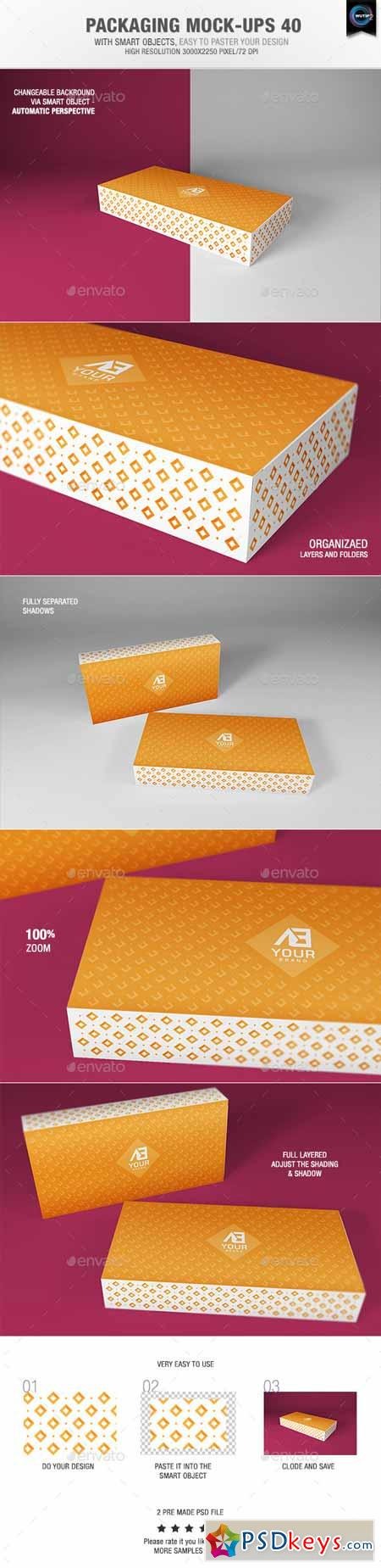 Packaging Mock-ups 40 9815742