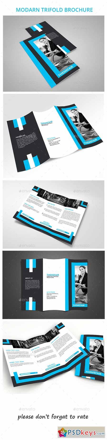Modern Trifold Brochure 10156324