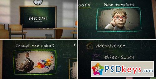 School Chalkboard - After Effects Projects » Free Download