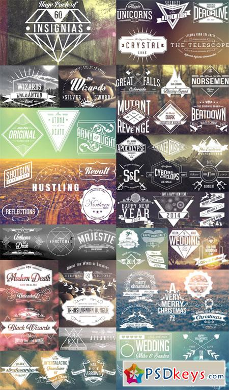 Animated Logos Pack 60 Insignias - After Effects Projects