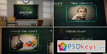 School Chalkboard - After Effects Projects