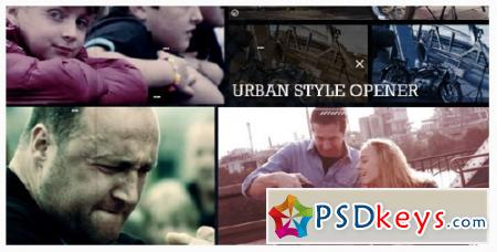 Urban Style Opener - After Effects Projects