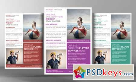 Corporate Business Flyer Template 96392