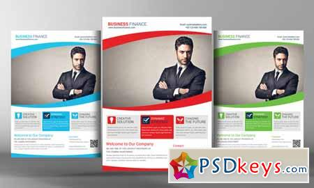 Corporate Business Flyer Template 95636 » Free Download Photoshop ...