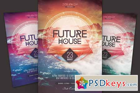 Future House Flyer 125906