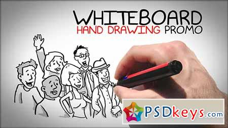 Whiteboard Hand Drawing Promo - After Effects Projects