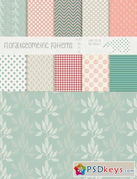 Floral&Geometric patterns 57740