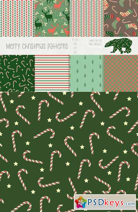 Merry christmas patterns 85269