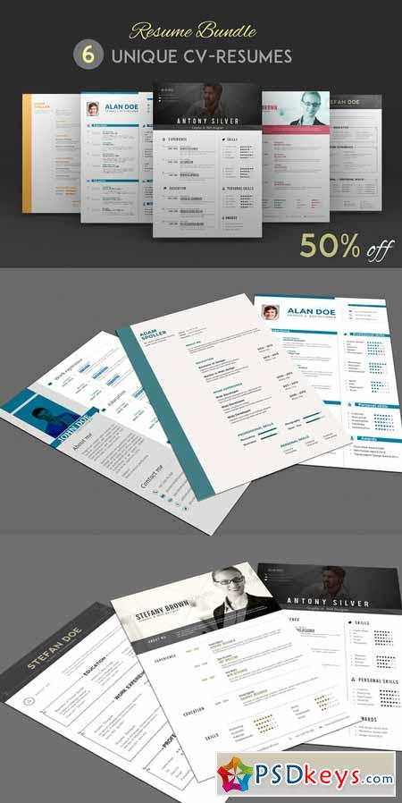 Resume Bundle 69403