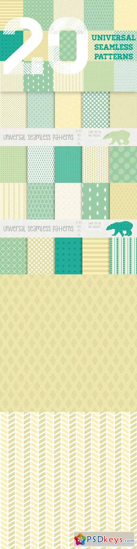 Universal seamless patterns 72966