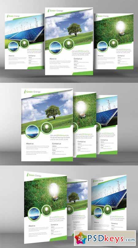 Renewable Energy Go Green Flyer 141221