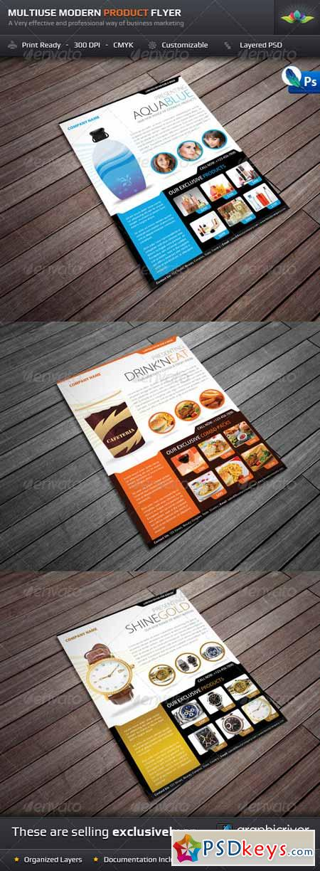 Multiuse Modern Product Flyer 726084