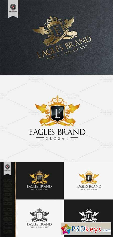 Eagles Brand Logo Template 17693