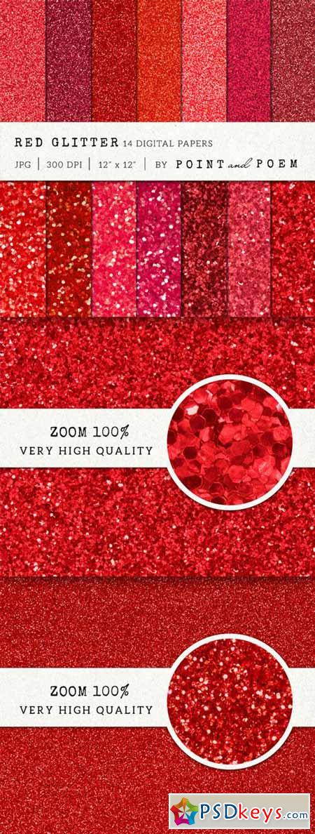 Red Glitter Texture Pack 159213
