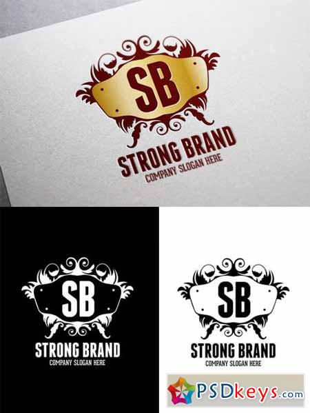Strong Brand Logo Template 9705