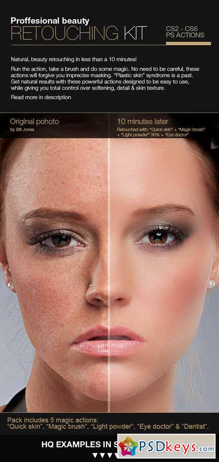 Professional Retouching Actions Kit 3224028
