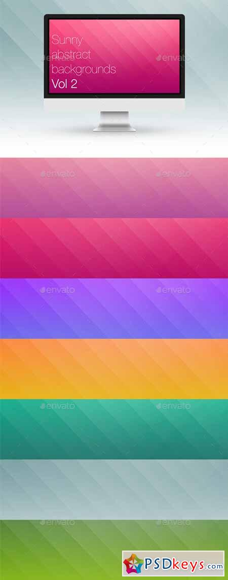 Sunny Abstract Backgrounds Vol 2 10065826