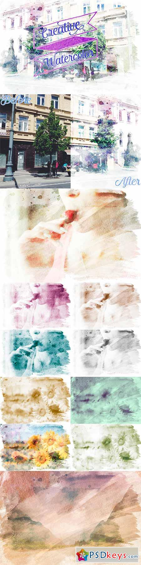 Creative Watercolor Painting Vol. 02 10070205