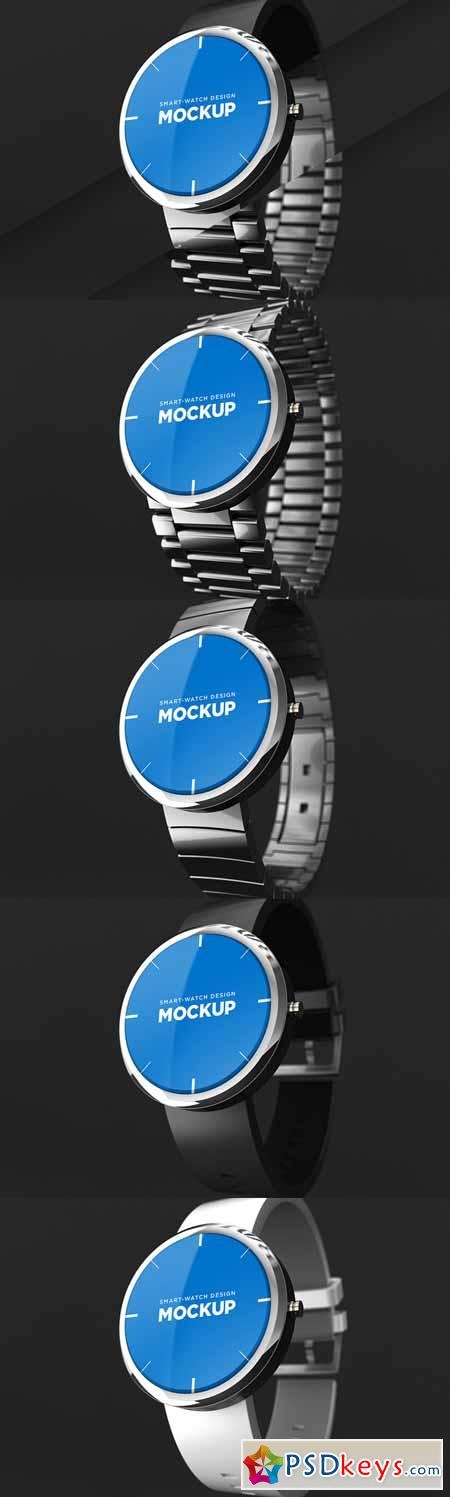 Smart-watch Design Mockup 174344