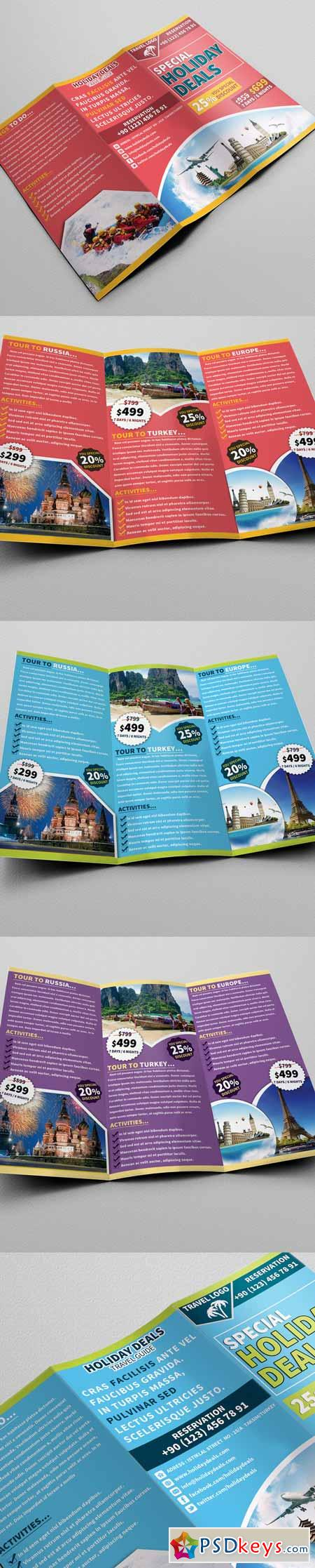 Travel Trifold Brochure 01 177097