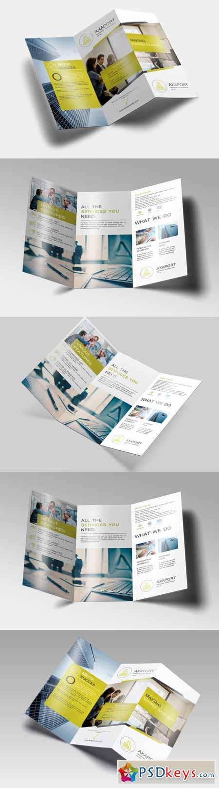 one fold brochure