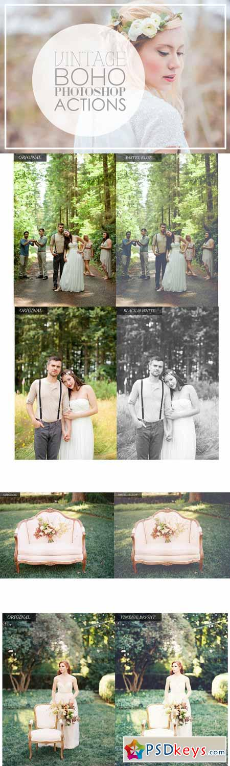Vintage Wedding Photoshop Actions 179858