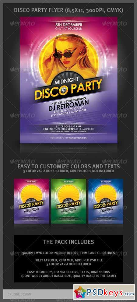 Disco Party Flyer 894197