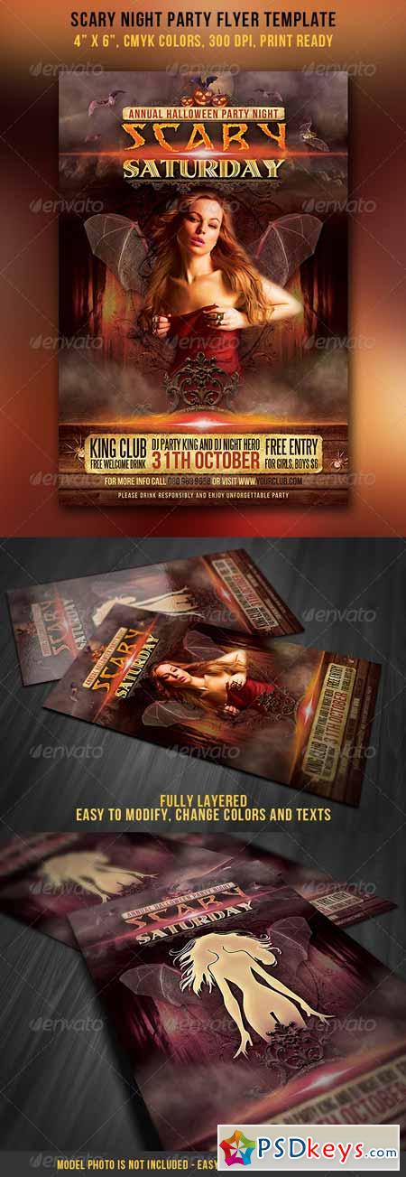Scary Night Party Flyer 3082800