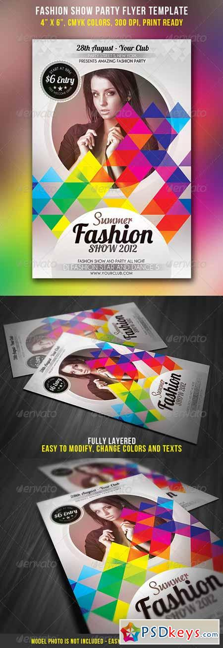 Fashion Show Party Flyer 2844421