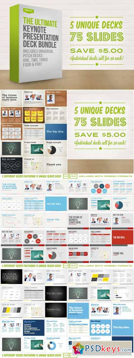 Ultimate Keynote Pres Deck Bundle 4391