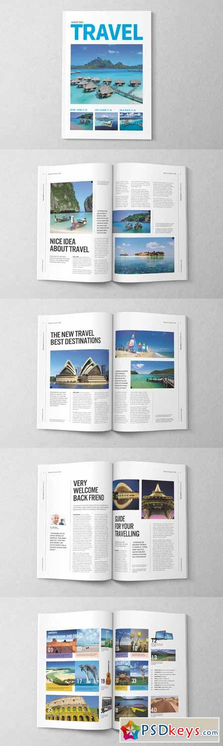 Magazine Editorial Template 03 14725